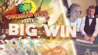 BIG WIN!? caribbean stud poker - Table games - Online caribbean stud