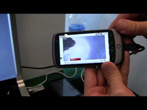 Android 2.2 Froyo - Adobe Flash and Air demo