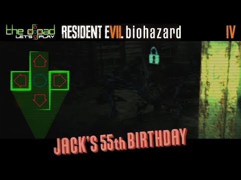 """I Put All My Cakes in the Attic"" - PART 4 - Resident Evil 7: Biohazard - Jack's 55th Birthday"