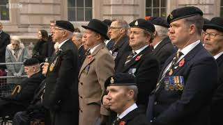 Remembrance Sunday  2017 THE CENOTAPH