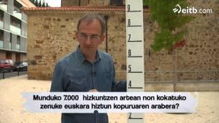 Euskara munduan hiztun gehien duen hizkuntzen %10ean dago