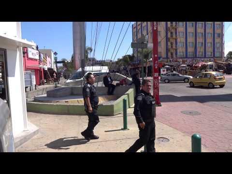 Caminando en el centro de Tijuana Mexico - Baja California av Revolucion
