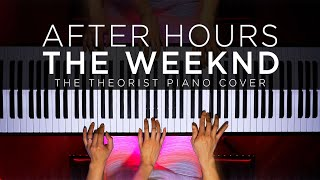 The Weeknd - After Hours | The Theorist Piano Cover