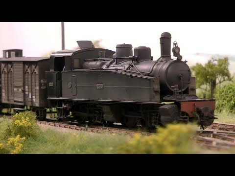 One of the finest award winning model railway layouts made in the United Kingdom
