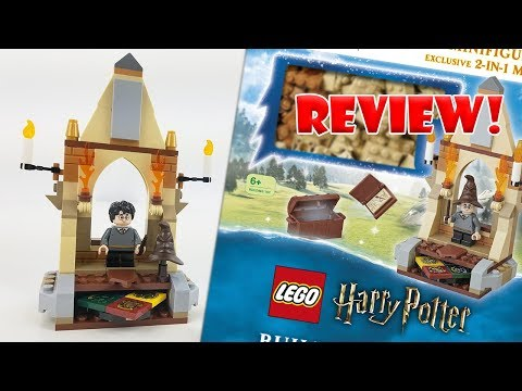 LEGO Harry Potter Review: Build Your Own Adventure (2019 Book) All The Possibilities!