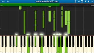 Estavius - Piano Version on Synthesia