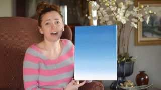 How to Paint an Ombre Canvas