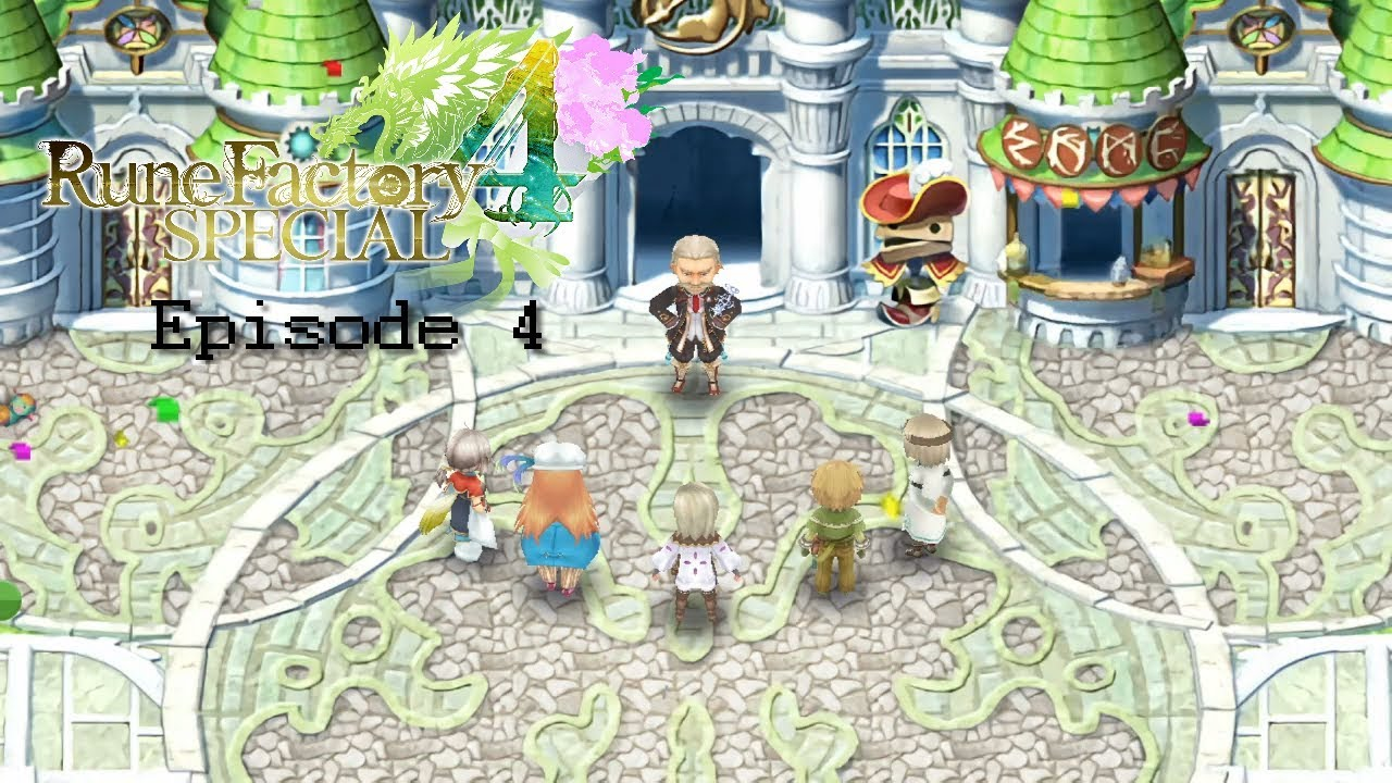 Rune Factory 4 Special - Episode 4 - [The Cooking Festival
