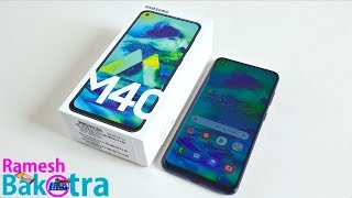 Samsung Galaxy M40 Unbxing and Full Review