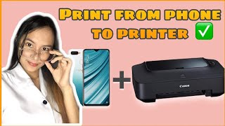 PRINT FROM PHONE TO PRINTER | …