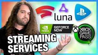 Game Streaming Round-Up: NVIDIA GeForce Now, Google Stadia, XCloud, PS Now, & Amazon Luna
