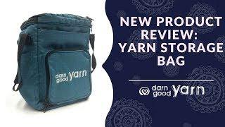 Darn Good Yarn Knitting & Crochet Storage Bag Review