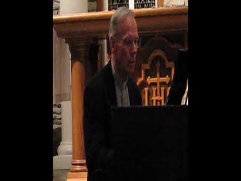 Fr. Denis Wilde performs Liszt Hungarian Rhapsody #2 - Part 2