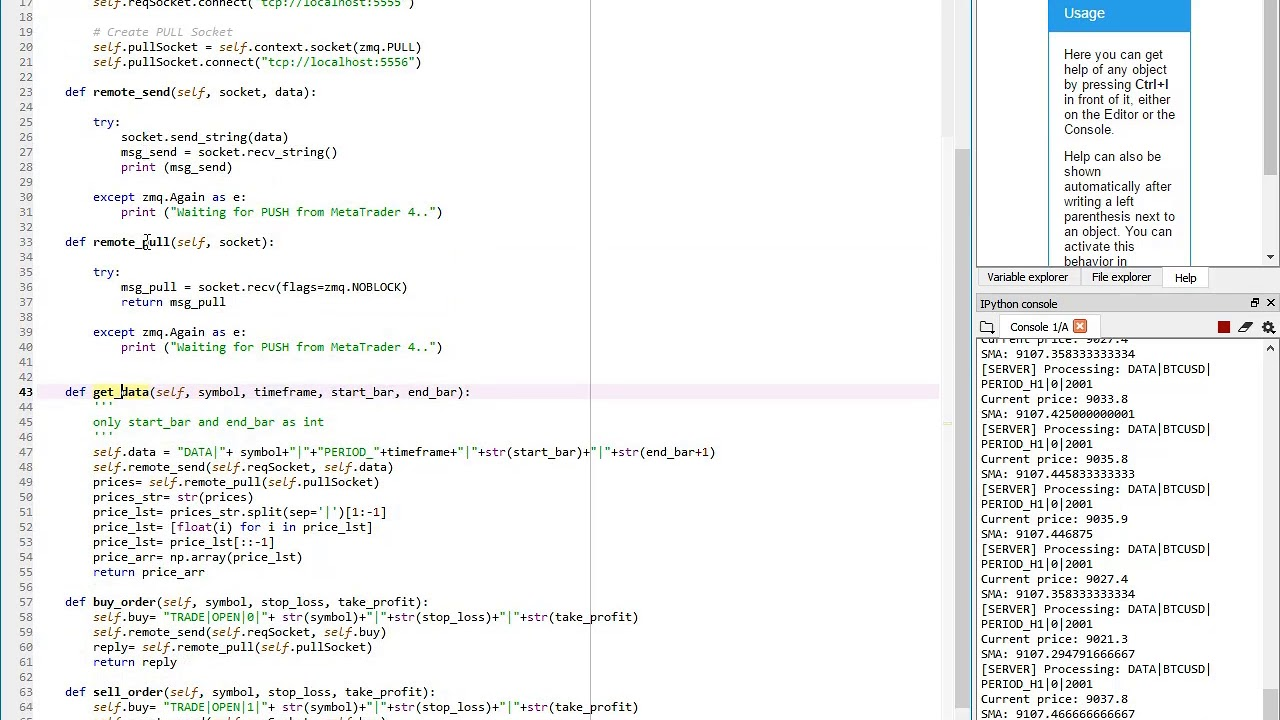 Tutorial How To Integrate Python With Metatrader 4 With An