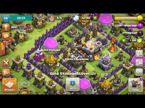 Clan Castle   Upgrade To Level 7   For 10 000 000 Gold   Clash of Clans