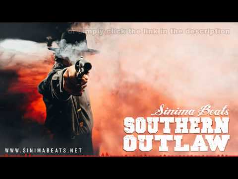 SOUTHERN OUTLAW Instrumental (Country Rap / Hick Hop Beat) Sinima Beats