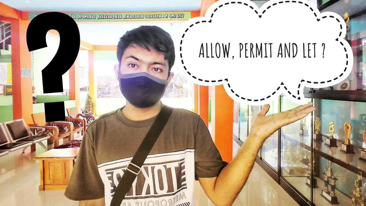 "Download Perbedaan cara penggunaan kata ""allow, permit,let"" English Grammar Lessons"