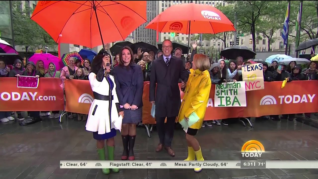 Today Show Triple Rubber Boot Battle - 11-Oct-2014