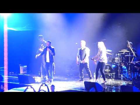 Redrama feat. A.J. McLean - Clouds Live @ Hartwall Areena Helsinki/Finland 7.3.2014 HD