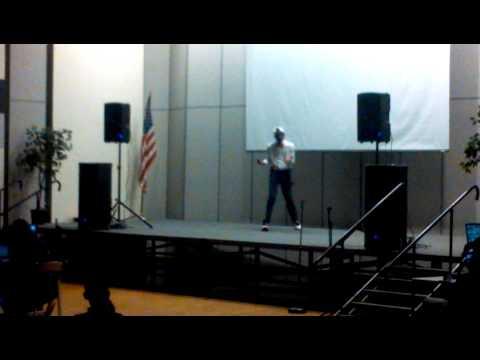 Darlington middle school talent show in 2014 (2)