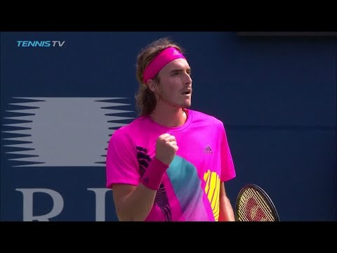 Hot Shot: Tsitsipas Breaks Djokovic With Backhand Beauty In Toronto 2018