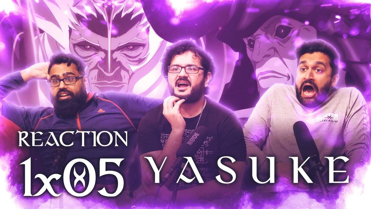 Yasuke - Episode 5 Pain & Blood - Group Reaction