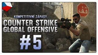Counter Strike: Global Offensive - |#5| - Kompetitivní zápasy - Inferno! | Český Gameplay