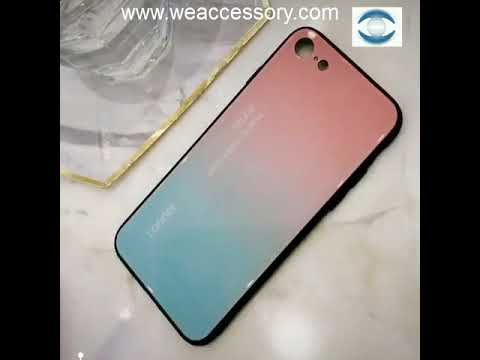 871c334a43d Accesorios Móviles Al Por Mayor China Funda Cristal Templado iPhone 8 Color  Degradado