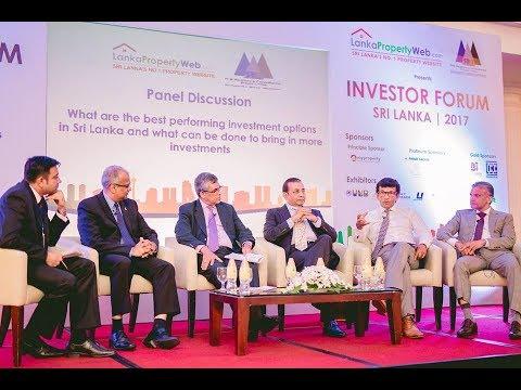 Panel Discussion at the Investor Forum Sri Lanka 2017