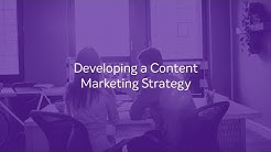 LEARN: Developing a Content Marketing Strategy