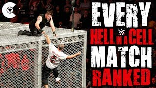 Every WWE Hell In A Cell Match Ranked From Worst To Best