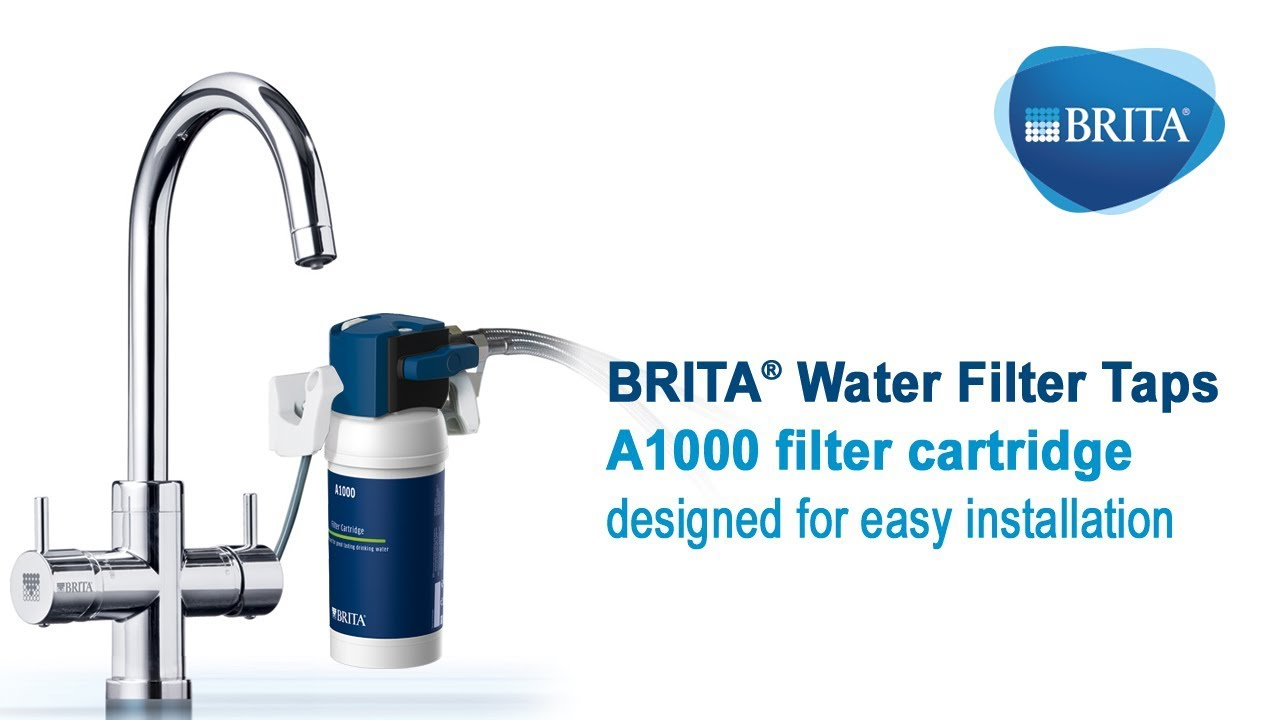 brita filter taps filter installation and replacement