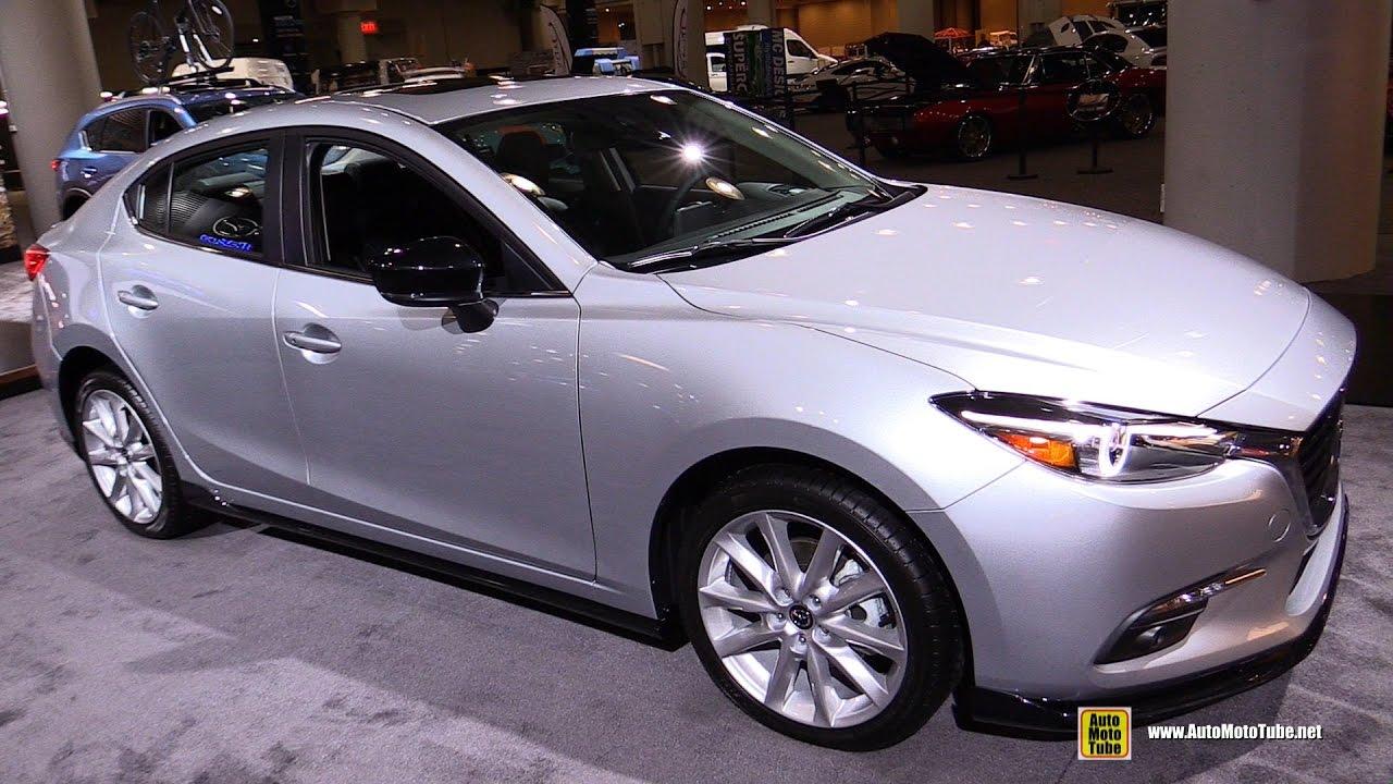 2017 Mazda 3 Grand Touring Exterior And Interior Walkaround Ny Auto Show