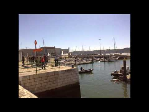 Lisbon Harbour  with music