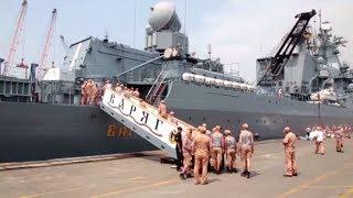 Поход «Варяга»: флагман Тихоокеанского флота добрался до Джакарты