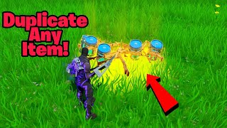 Comment DUPLICATE ITEMS in Fortnite glitch (New) Fortnite Glitches Saison 9 PS4/Xbox