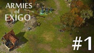 Armies of Exigo (Empire Campaign) Walkthrough part 1 [No Commentary]