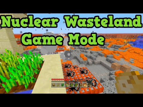 Minecraft Xbox 360 + PS3 Nuclear Wasteland Survival - A TU25 Game Mode