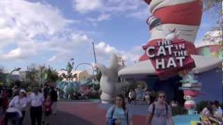 Islands of Adventure Suess Landing Complete Walkthrough 2013 Universal Orlando Resort Florida