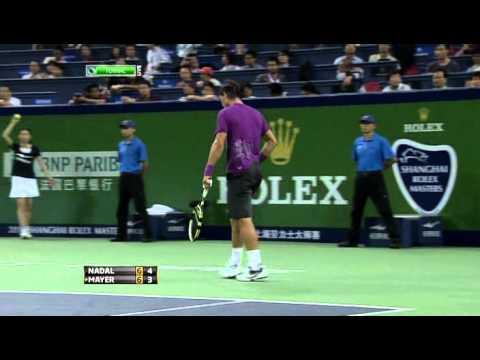 Shanghai Masters 2011 Nadal   Mayer