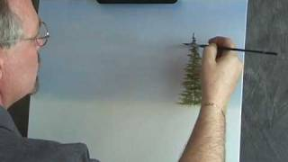 Painting Fir Trees - Quick Tip