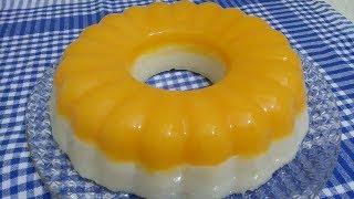BU KIŞIN EN KOLAY TATLISI :) MUHTEŞEM lezzetiyle portakal soslu sütlü irmik tatlısı tarifi