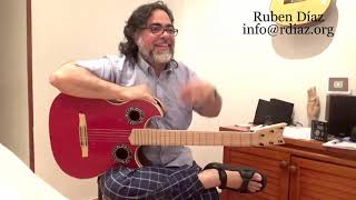 How I verify if I am learning ...? / Questions to improve on flamenco guitar n.3/ Skype Ruben Diaz