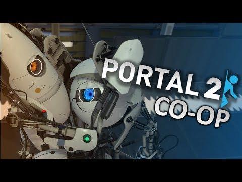 Portal 2 Co-op: Part 1 - Shenanigans