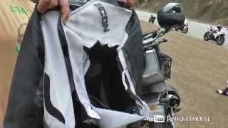 Textile Jacket Shredded in Slow Speed Crash - #83