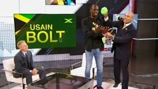 Usain Bolt on Olympic retirement, doing other sports, meetin Michael Phelps, '17 World Championships