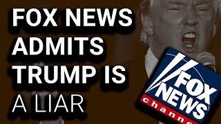 SHOCK: Fox News Fact-Checks Trump: