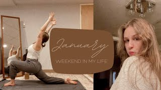 January Weekend In My Life: Skincare Routine, Devotional, and Yoga!