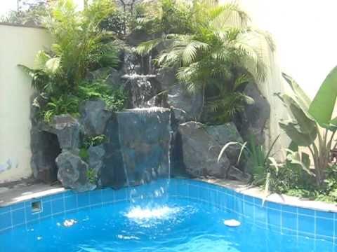 Arte y jard n cascadas doovi for Cascada artificial casera
