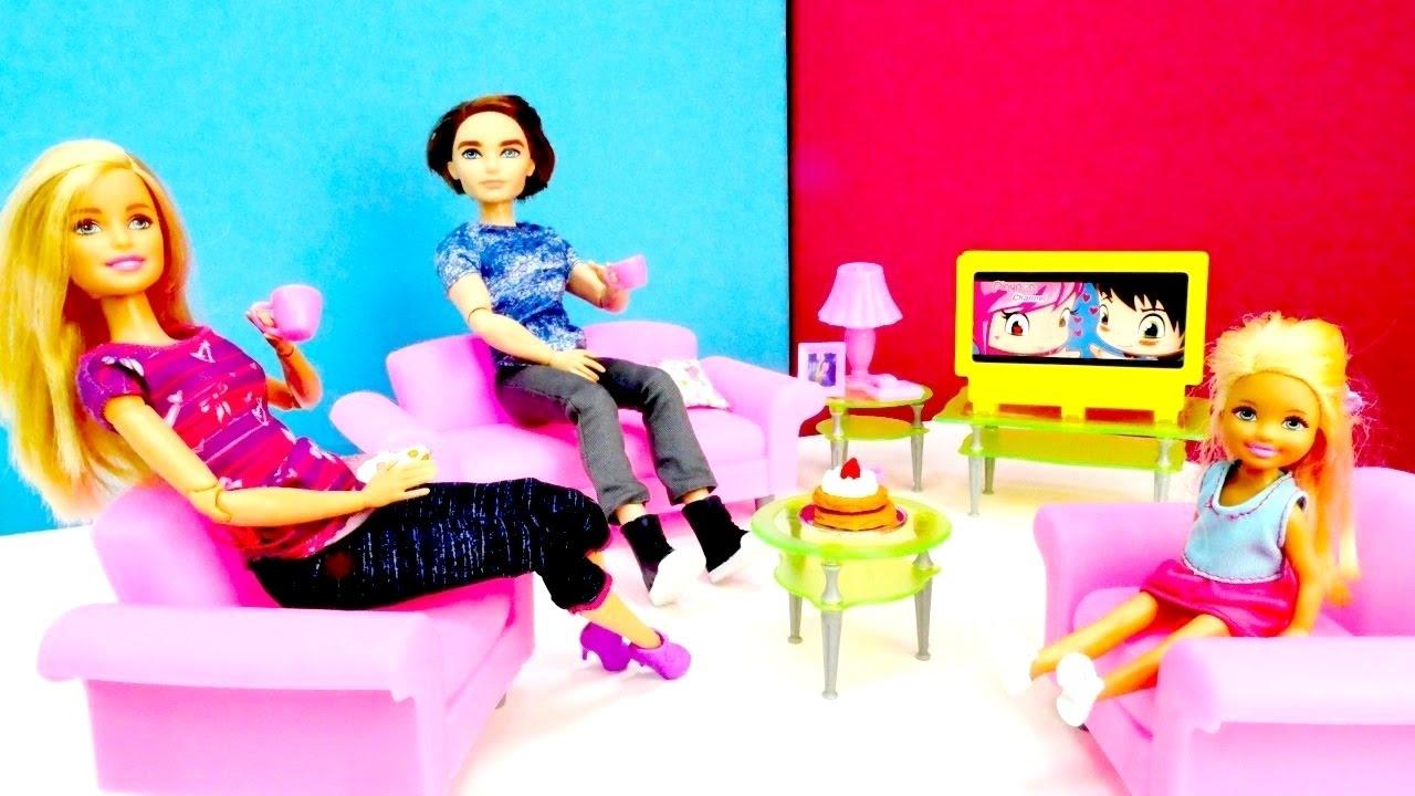Spielspaß mit Barbie - Wir bestellen neue Möbel fürs Wohnzimmer ...